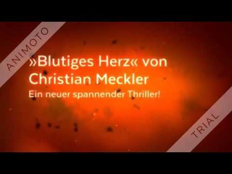 Blutiges Herz von Christian Meckler eBook & Print (Buchtrailer)
