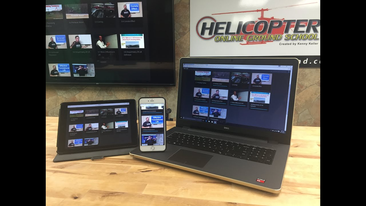Ground School On Ipad Iphone Laptop Desktop Tablet Smartphone