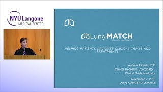 Navigating clinical trials and treatments for lung cancer