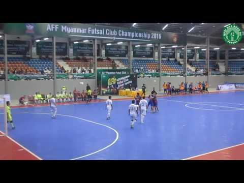 Highlight – Thai Son Nam 3 – 4 Thai Port – AFF Futsal Club Championship 2016 – Final – Men