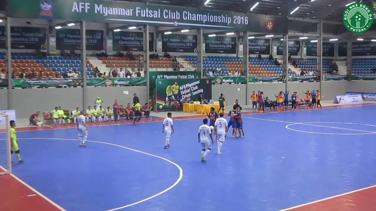 Highlight - Thai Son Nam 3 - 4 Thai Port - AFF Futsal Club Championship 2016 - Final - Men