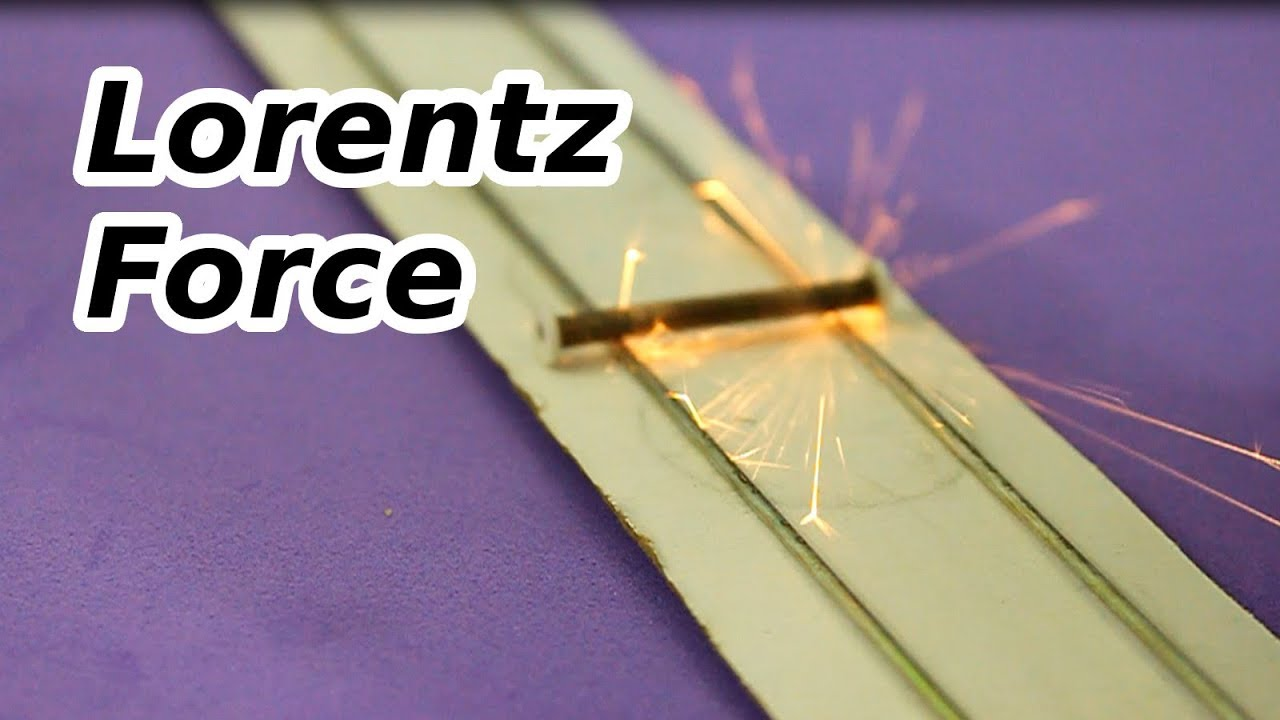 How To Make An Electric Motor >> Lorentz Force and Electric Motors - YouTube