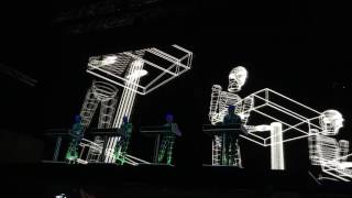 Kraftwerk - Boing Boom Tschak / Techno Pop / Musique Non Stop (Live in Düsseldorf 2017-07-01)