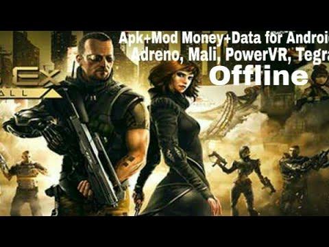 Deus Ex: The Fall 0.0.37 Apk + Mod Money + Data For Android  Adreno, Mali, PowerVR, Tegra  Offline