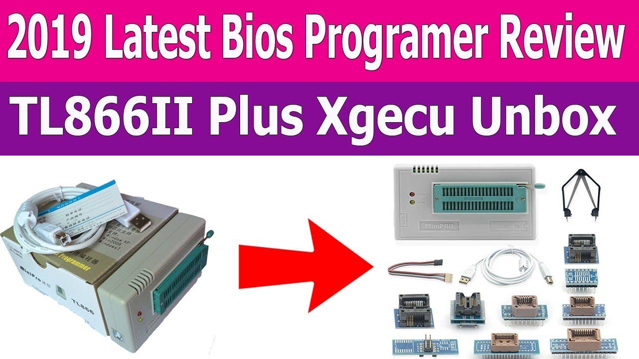 Bios Programmer 2019 | TL866II Plus Review | Xgecu | Bangla