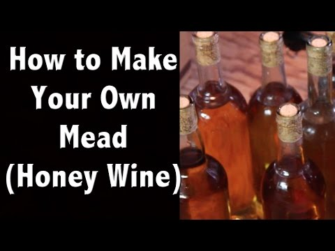 How to Make Mead (Honey Wine) & Our Favorite Honey Mead Recipe - Off Grid Living