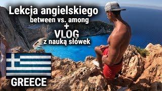 Szybka lekcja angielskiego z Grecji | between vs among