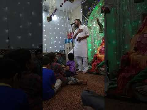JASHN E IMAM E HUSSAIN SHAHID E KARBALA A.S.| SHAYARI Kasida | MANQBAT BY VASIMHAIDER - VATVA