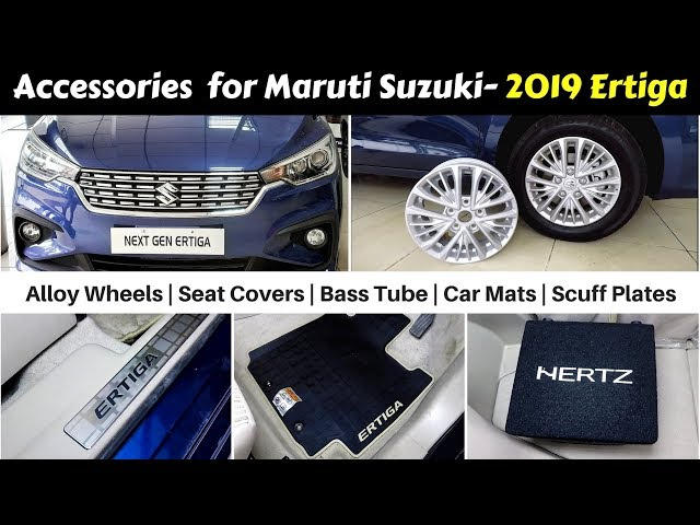 2019 Maruti Ertiga Accessories Detailed By Dealer With Price Video