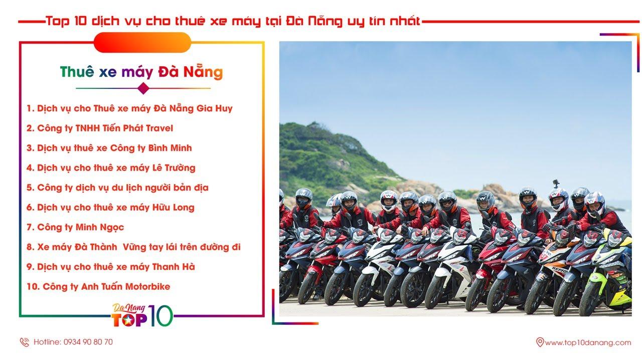 Top 10 Dịch Vụ Cho Thuê Xe Máy Đà Nẵng uy tín nhất