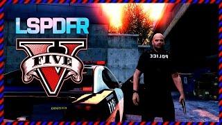 GTA 5 LSPDFR Deutsch - WAS ein KRASSER Zufall und neue Mods! (Polizei Mod)
