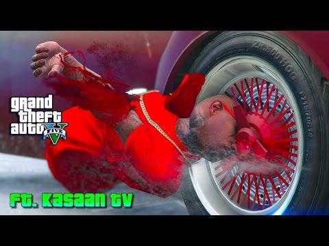 GTA 5 ONLINE - BLOODS VS CRIPS FT KASAANTV PART 2 [HD]