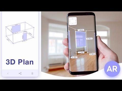 AR Plan 3D Ruler – Camera to Plan, Floorplanner - Apps on