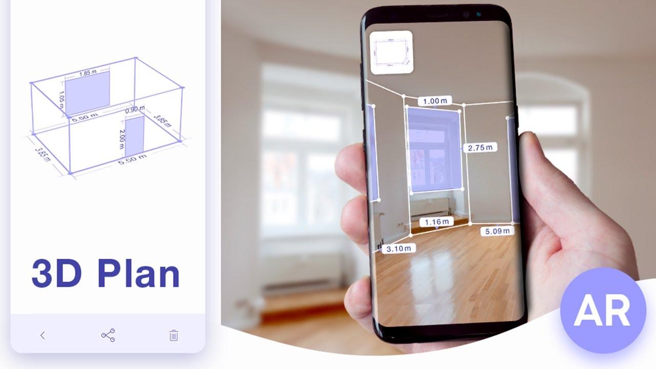 Ar Plan 3d Cam To Plan Floorplanner Youtube