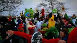 Subscribe to Angry Birds! Celebrating 1 Billion YouTube views with a Rovio Harlem Shake