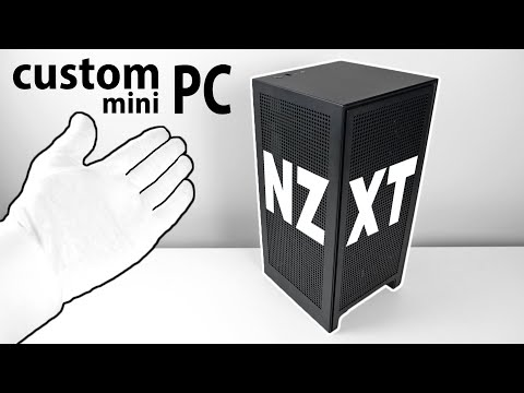Custom Gaming PC Unboxing And Setup - Xbox Series X Style Mini Case!