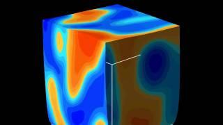 高分子2成分ブレンドの伸張シミュレーション