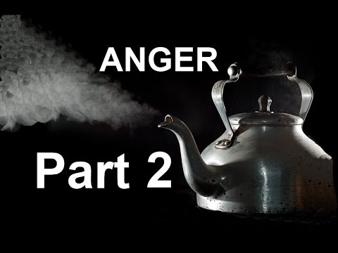 Holistic ways to help to deal with Anger  video 2 THE BODY