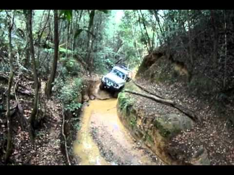 Glasshouse mountains 4wd power lines track canyon youtube for House of tracks