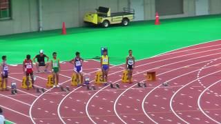 H29年度 学校総合 埼玉県大会 中学1年男子100m決勝 thumbnail