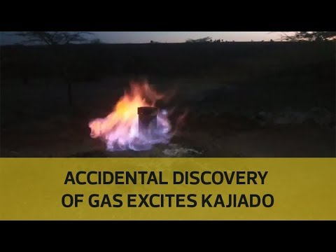 Accidental discovery of gas excites Kajiado