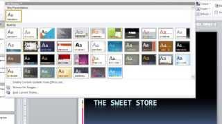 PowerPoint 2010 Tutorial for Beginners #1 Overview (Microsoft PowerPoint)(This overview of PowerPoint 2010 illustrates the basic steps required to build your presentations. You will learn how to create slide content, add images, format ..., 2013-07-29T16:31:35.000Z)