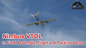 Nimbus Tilt VTOL with Pixhawk2 1 - YouTube