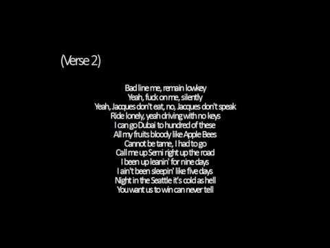 Travis Scott - Green and Purple ft. Playboi carti - Lyrics
