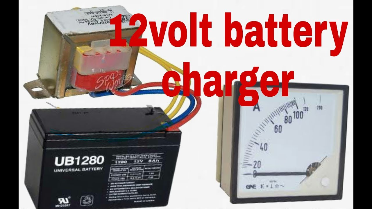 Make A 12volt Battery Charger Low Cost At Home 100 Working