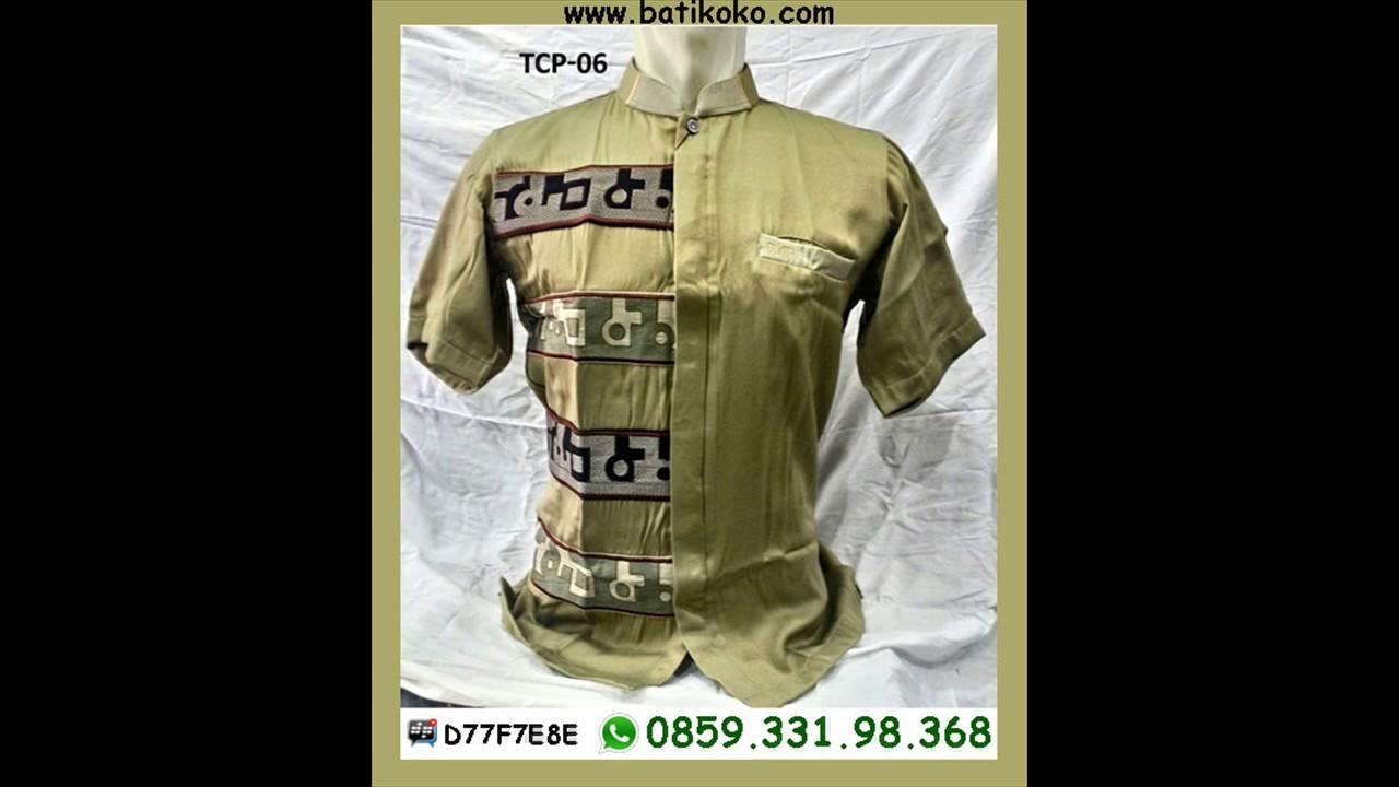 6285933198368 Baju Muslim Pria Modern Terbaru Jual Busana