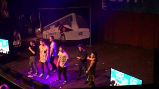 O2L dancing Our Second Life Connor, Kian, Sam, JC, Trevor, Ricky House Of Blues Dallas Texas