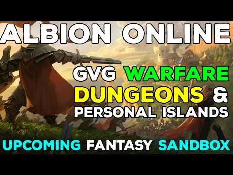Albion Online Gameplay: Personal Island, GvG Warfare, Dungeons & Missions!