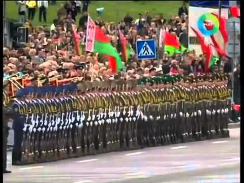 Belarus Military Drill Team Ripple Line