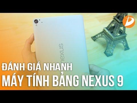 Đánh Giá Nexus 9  - Con Quái Vật Phần Cứng