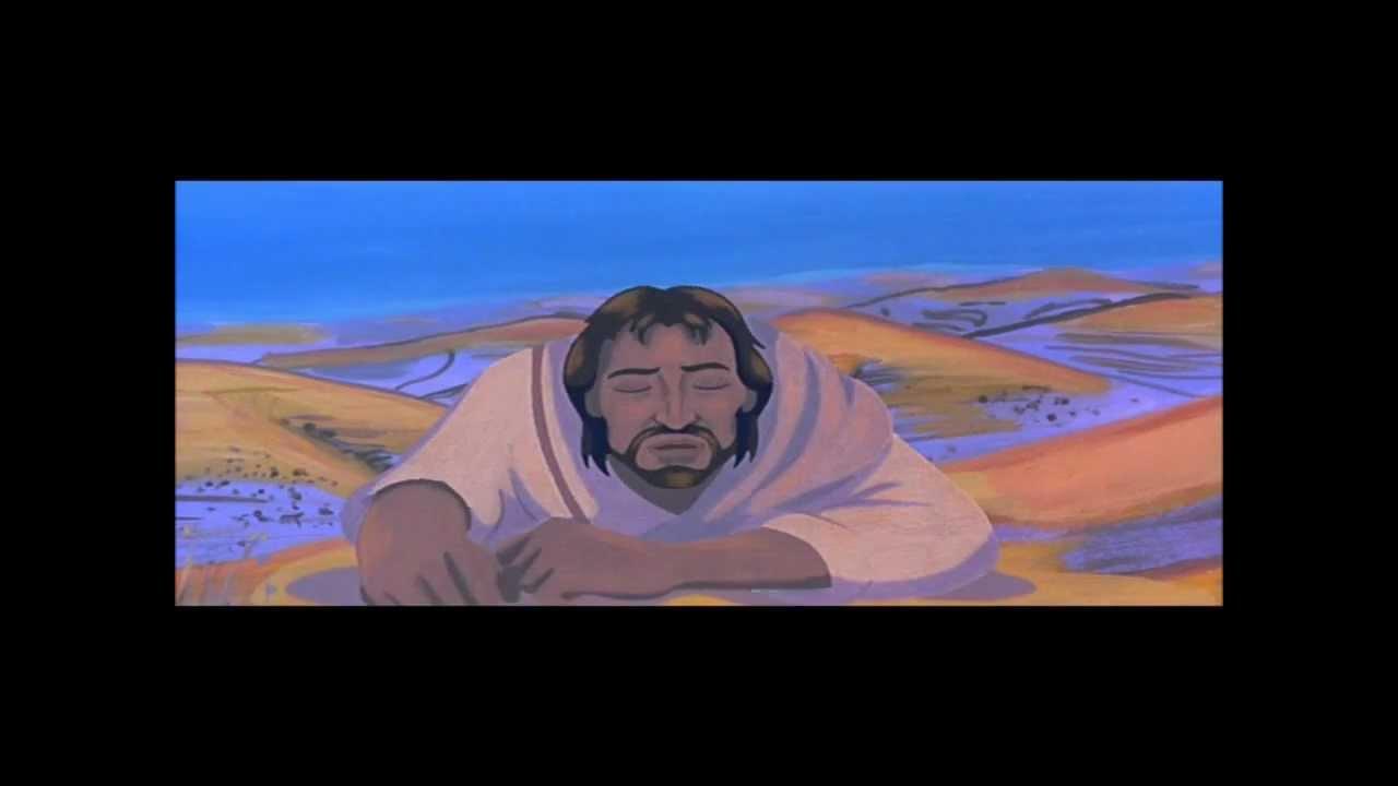 Film d'animation LA BIBLE : Les tentation de Jésus dans le désert