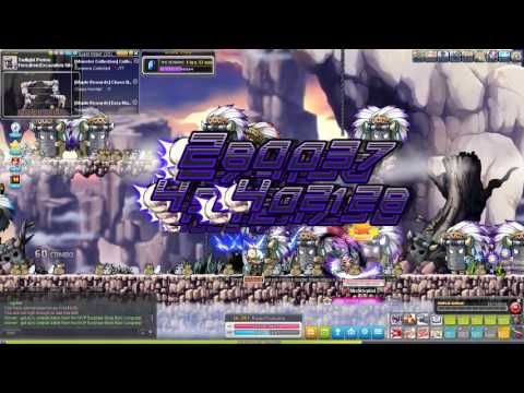 Maplestory unfunded DB grind for 5th job exp stone!!