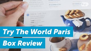 Try The World Paris Box & Snack Box Review   HighYa