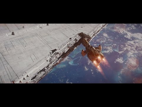 Rogue One: Hammerhead Corvette Attack - with music by John Williams