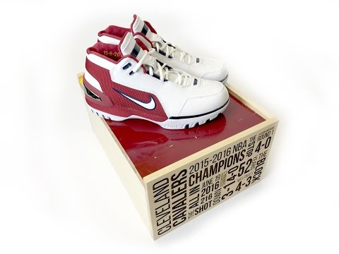 616e13aa StockX Launches Exclusive 'Cavs Championship Court' SPO – Nike Air Zoom  Generation Retro & LeBron 14 - YouTube