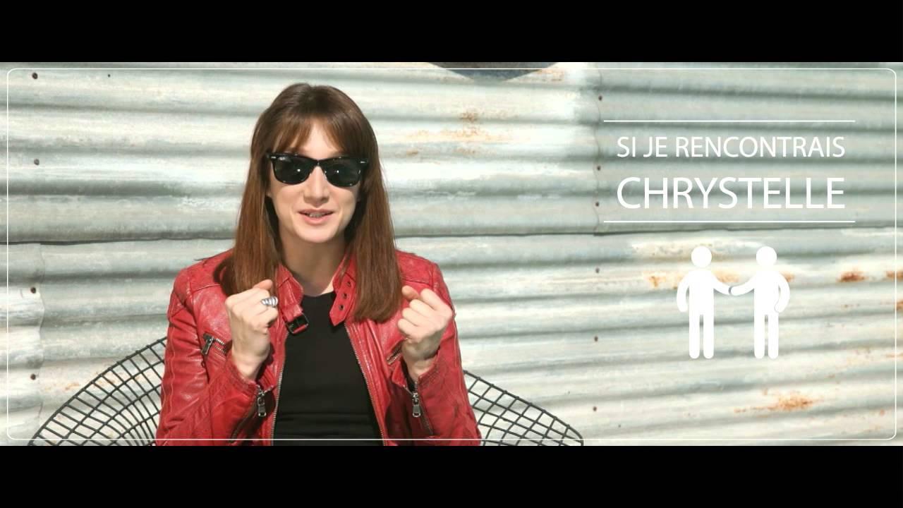 """"""" Chrystelle : bois un coup, trouve-toi un mec et détends ..."""