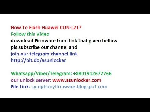 Huawei CUN-L21 Flash,  FRP /Dead Boot Repair