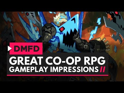 A GREAT CO-OP RPG | Dragon Marked For Death Gameplay Impressions