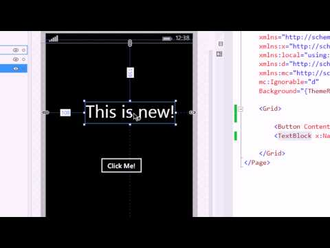 Windows Phone 8.1 for newbies : Episode 2 - Hello Xaml!