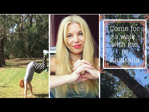 Come on a peaceful Australian bush walk with me & relax
