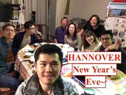 Hannover Visit ( New Year Eve~! )