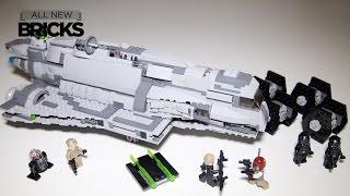 Lego Star Wars Rebels 75106 Imperial Assault Carrier Speed Build