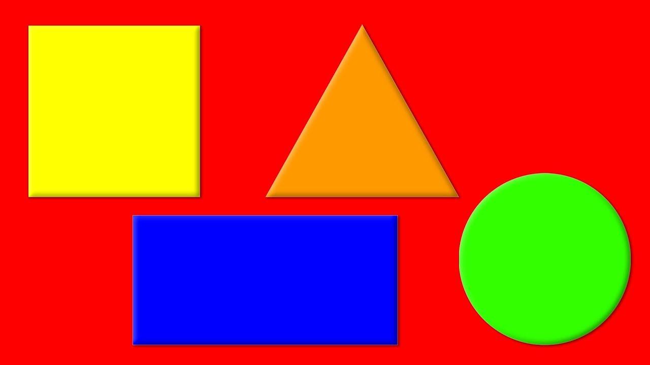 картинка фигуры квадрат круг треугольник прямоугольник неких
