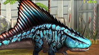 Max Lv 40 Labyrinthoontia | T REX Challenge - Jurassic World™ The Game