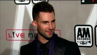Video Adam Levine Says Behati Prinsloo Made Him Want To Get Married - Splash News | Splash News TV download MP3, 3GP, MP4, WEBM, AVI, FLV Mei 2018