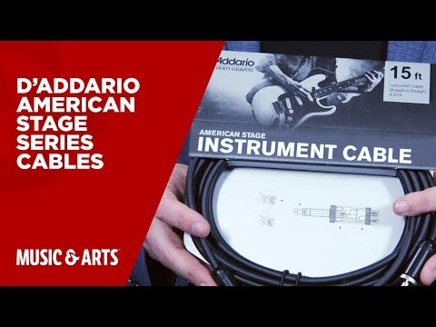 D'Addario American Stage Series Cables